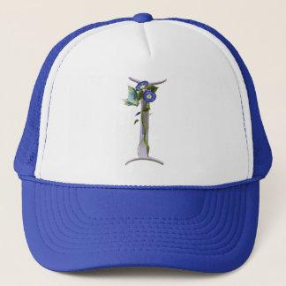 Precious Butterfly Initial I Trucker Hat
