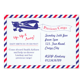 Precious Cargo Baby Shower Invitation