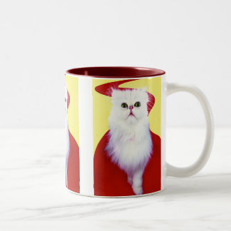 Precious Cat and Kitten Photos, Gifts - Customize! Two-Tone Coffee Mug