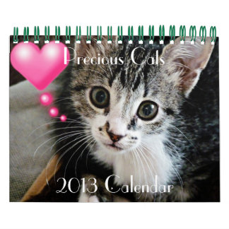 Precious Cats with famous quotes 2013 Calendar
