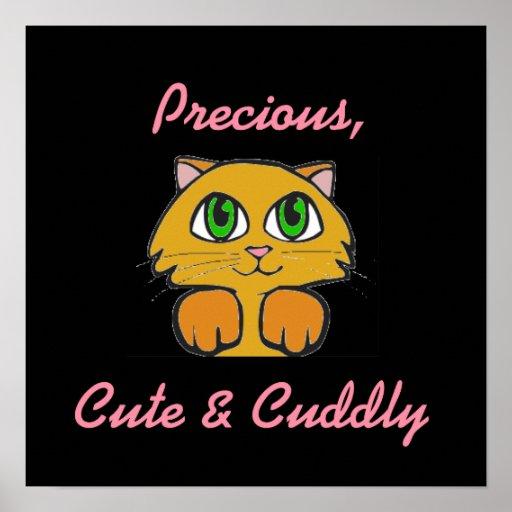 Precious, Cute & Cuddly Print