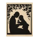 Precious Gift - Wood Canvas