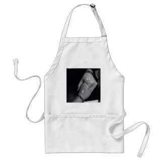 Precious, immaculate,exquisite &personalized home adult apron