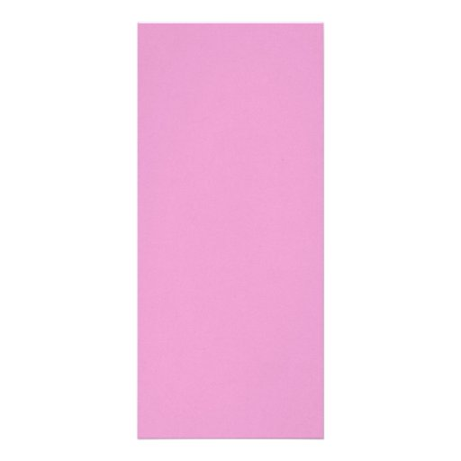 Precious in pink personalized rack card