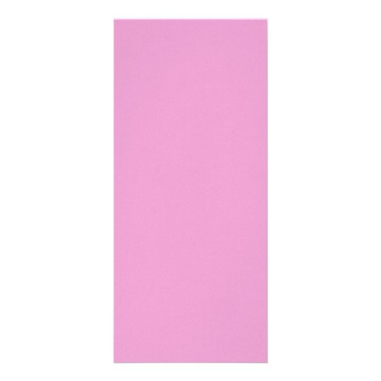 Precious in pink rack card