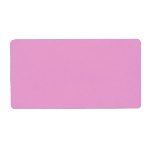 Precious in pink shipping label