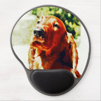 Precious Irish Setter Puppy Gel Mouse Pad