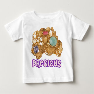 PRECIOUS - Jeweled Gold Nugget Baby T-Shirt