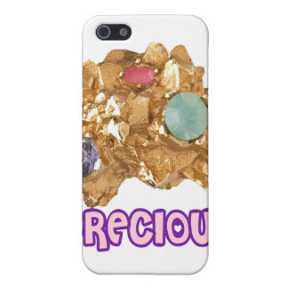 PRECIOUS - Jeweled Gold Nugget iPhone 5 Case