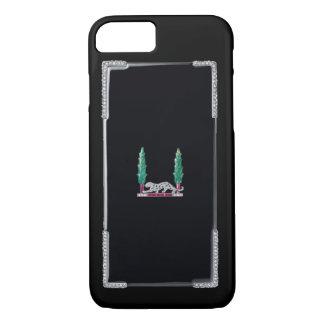 PRECIOUS JEWELS Deco Diamond Panther Print iPhone 7 Case