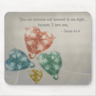 Precious Jewels Scripture Mouse Pad
