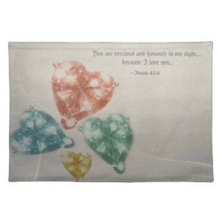 Precious Jewels Scripture Placemat