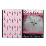 Precious Kittens Paris Theme Case For iPad Air