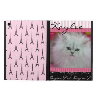 Precious Kittens Paris Theme iPad Air Cover