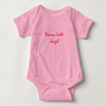 Precious Little Angel-Childs Baby Bodysuit