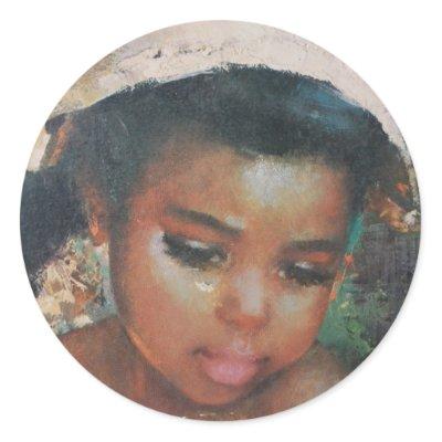 precious little black girl vintage sticker p217970785467268063z85xz 400 Mature Women Hairstyles