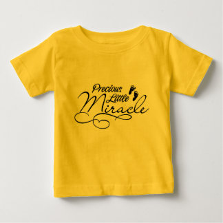 Precious little miracle baby shirt