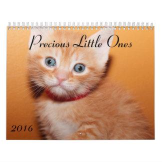 PRECIOUS LITTLE ONES 2016 CALENDAR