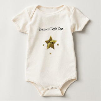 Precious Little Star: Lacy Baby Bodysuit