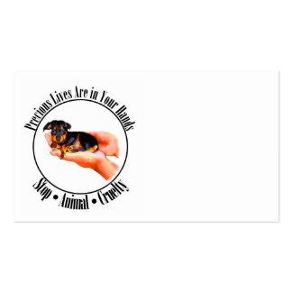 Precious Lives Business Cards