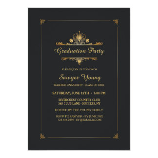 Precious Memories Graduation Invitation