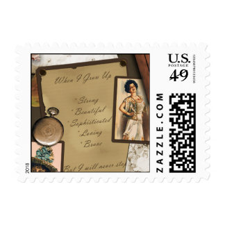 """Precious Memories"" Scrapbook Postage Stamp"