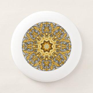 Precious Metal Vintage Kaleidoscope  Frisbee