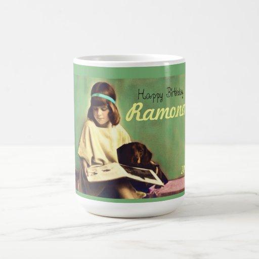 Precious Moments dachshund dog Coffee Tea Mug