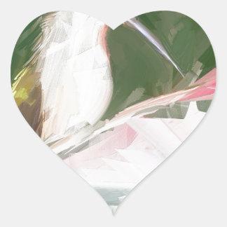 precious moments heart sticker
