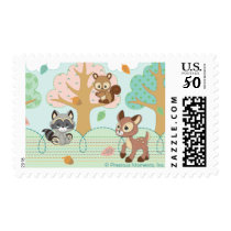 Precious Moments | Woodland Baby Pattern Postage