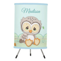 Precious Moments | Woodland Owl Always Love You Tripod Lamp