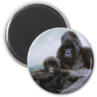 PRECIOUS ~ Mtn Gorillas Magnet