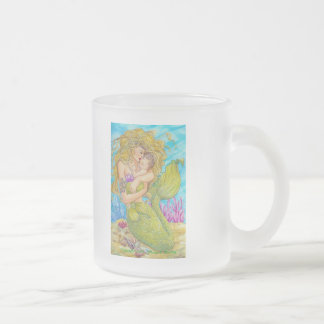 Precious One Frosted Glass Coffee Mug