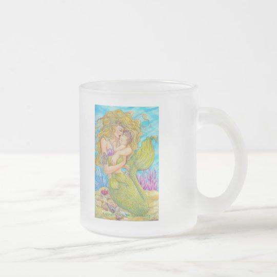 Precious One Frosted Glass Coffee Mug