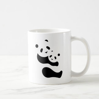 Precious Panda Bears Coffee Mugs
