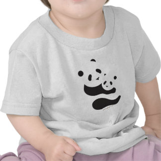 Precious Panda Bears T Shirts