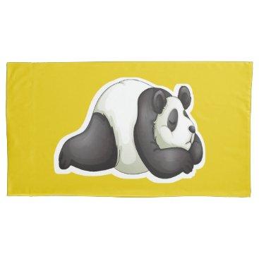 Precious Panda Pillow Case