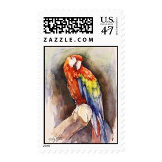 Precious Parrot Postage