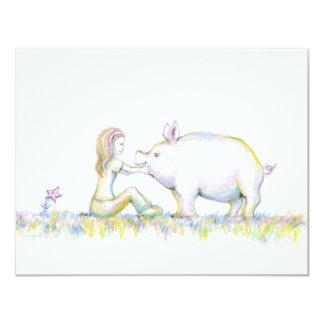 Precious Pig Card