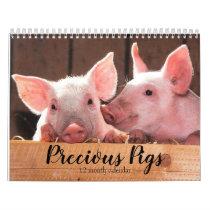 Precious Pigs 2021 Calendar