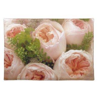 Precious Pink Roses Placemat