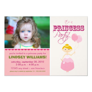 Precious Princess Party Invitation (pink)