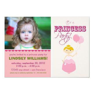 Precious Princess Party Invitation (pink)