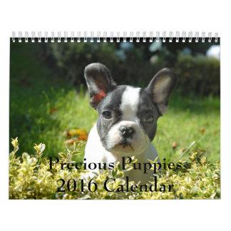 Precious Puppies 2016 Calendar