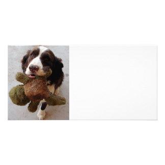 Precious Puppy Photo Card Template