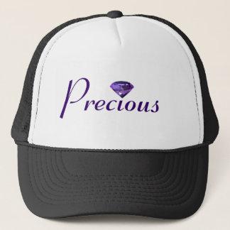 Precious   Purple, Violet Gem Trucker Hat