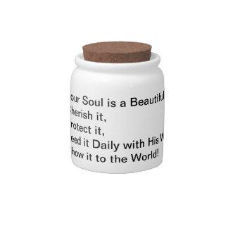 Precious Quote Candy Jar