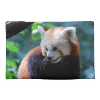 Precious Red Panda Bear Travel Accessory Bag