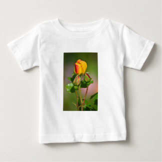 Precious rose red-yellow with buds baby T-Shirt