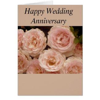 Precious Roses Anniversary Card